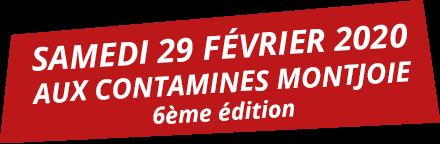 Samedi 29 Février 2020 aux Contamines-Montjoie